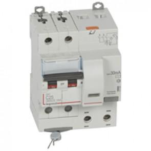 RCBO - DX³ 6000 -10 kA -2P-230 V~ -25 A -30 mA -AC type
