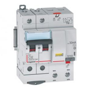 RCBO - DX³ 6000 -10 kA -2P-230 V~ -32 A -30 mA -AC type