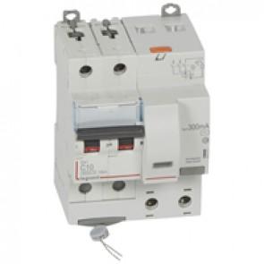 RCBO - DX³ 6000 -10 kA -2P-230 V~ -10 A -300 mA -AC type