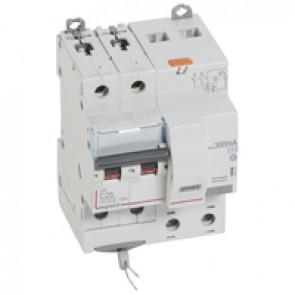 RCBO - DX³ 6000 -10 kA -2P-230 V~ -25 A -300 mA -AC type