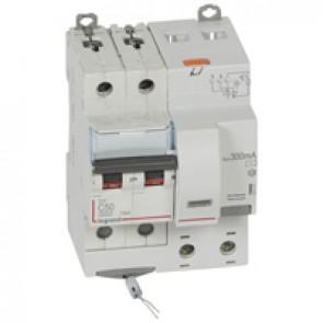 RCBO - DX³ 6000 -10 kA -2P-230 V~ -50 A -300 mA -AC type