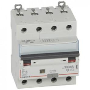 RCBO - DX³ 6000 -10 kA -4P-400 V~ -16 A -300 mA -AC type