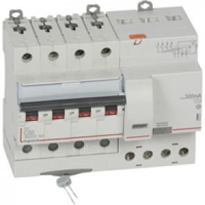 RCBO - DX³ 6000 -10 kA -4P-400 V~ -50 A -300 mA -AC type