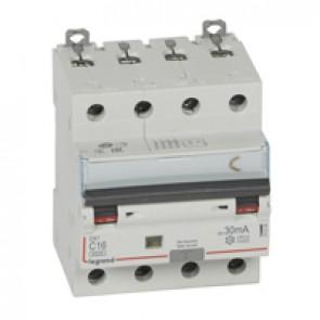 RCBO - DX³ 6000 -10 kA -4P-400 V~ -16 A -30 mA -A type