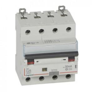 RCBO - DX³ 6000 -10 kA -4P-400 V~ -25 A -30 mA -A type