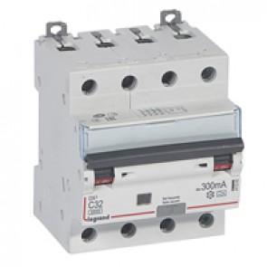 RCBO - DX³ 6000 -10 kA -4P-400 V~ -32 A -300 mA -A type