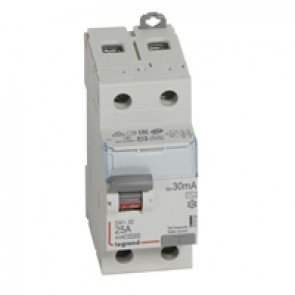 RCD DX³-ID - 2P 230 V~ - 25 A - 30 mA - AC type