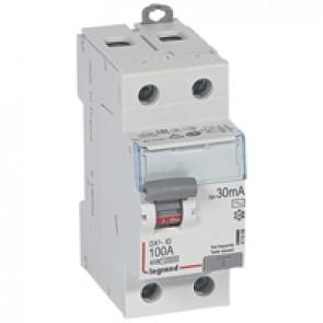 RCD DX³-ID - 2P 230 V~ - 100 A - 30 mA - AC type