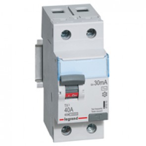 RCCB TX³ - 2P 230 V~ - 30 mA - 40 A - AC type