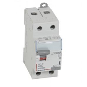 RCD DX³-ID - 2P 230 V~ - 40 A - 100 mA - AC type