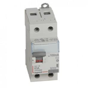 RCD DX³-ID - 2P 230 V~ - 63 A - 100 mA - AC type