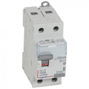 RCD DX³-ID - 2P 230 V~ - 100 A - 100 mA selective - AC type