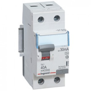 RCCB TX³ - 2P 230 V~ - 30 mA - 40 A - A type