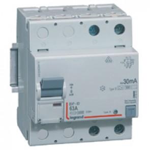 RCD DX³-ID - 2P 230 V~ - 63 A - 30 mA - B type