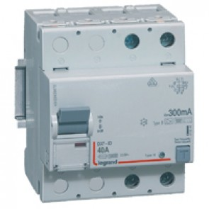 RCD DX³-ID - 2P 230 V~ - 40 A - 300 mA - B type