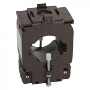 Single phase current transformer (CT) for 50.5x12.5 / 40.5x20.5 mm bar - transformation ratio 1000/5