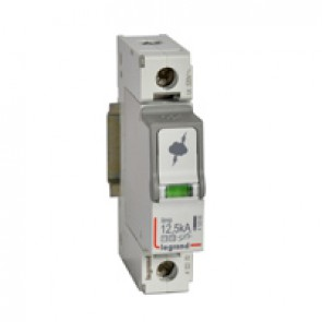 SPD - protection of main distribution board - T1+T2 - limp 12.5 kA/pole - 1P