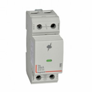 SPD - high risk level installation. - T1+T2 - limp 35 kA/pole - 440 V~(IT) -plug-in -1P