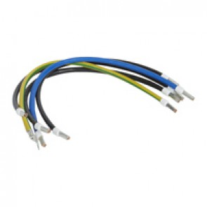 5 conductors kit for cabling SPD in industrial enclosure - 16 mm² - 40 cm