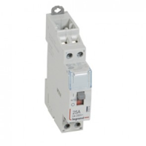 Power contactor CX³ - with 24 V~ coll and handle - 2P 250 V~ - 25 A