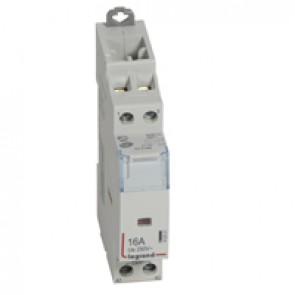 Power contactor CX³ - with 230 V~ coll - 2P 250 V~ -16 A - N/C+N/O