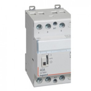 Power contactor CX³ - with 230 V~ coll and handle - 3P 400 V~ - 40 A