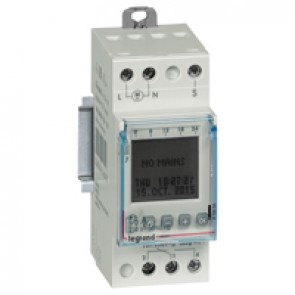 Programmable time switch digital disp.- for outdoor illuminations - 1 output