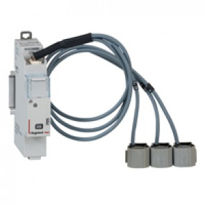 Measurement modules CX³ - direct connection up to 63 A - 3-phase - 1 module