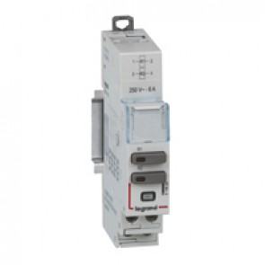 Universal control modules CX³ - 2 relays 240 V~ - 6 A - 1 module