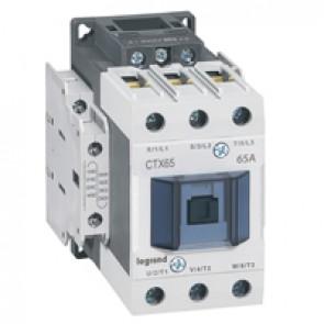 3-pole contactors CTX³ 65 - 65 A 230 V~ - 2 NO + 2 NC - lug terminals