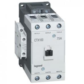 3-pole contactors CTX³ 65 - 75 A 230 V~ - 2 NO + 2 NC - lug terminals