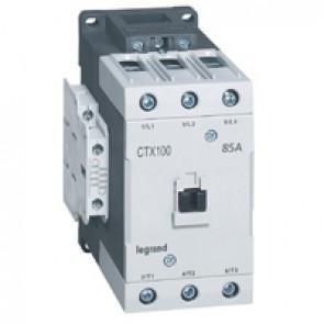 3-pole contactors CTX³ 65 - 85 A - 24 V= - 2 NO + 2 NC - lug terminals