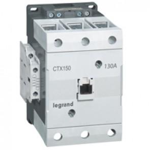 3-pole contactors CTX³ 150 - 130 A - 24 V= - 2 NO + 2 NC - screw terminals