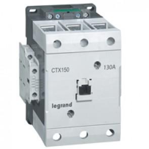 3-pole contactors CTX³ 150 - 130 A -100- 240 V~/= - 2 NO + 2 NC -screw terminals