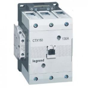 3-pole contactors CTX³ 150 - 130 A - 24 V~ - 2 NO + 2 NC - lug terminals
