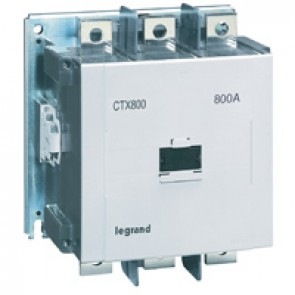 3-pole contactors CTX³ 800 - 800 A - 380-450 V~ - 2 NO + 2 NC - screw terminals