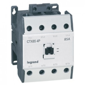 4-pole contactors CTX³ - without auxiliary contact - 135/85 A 230 V~