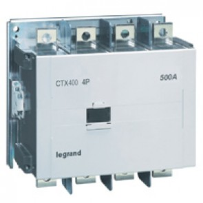 4-pole contactors CTX³ - with auxiliary contact - 500/400 A - 100-240 V~/=
