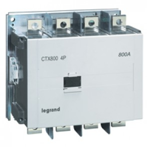 4-pole contactors CTX³ - with auxiliary contact - 900/800 A - 100-240 V~/=