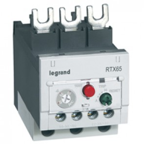 Thermal overload relay RTX³ 65 - 45 to 65 A - for CTX³ 65 - non diff.