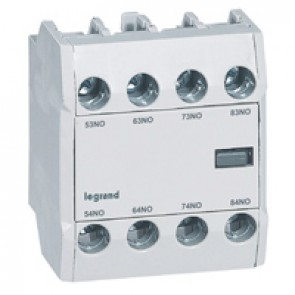 CTX³ add-on aux. contact - for CTX³ 22/40/65/100/150 - 4 NO - Front mounting
