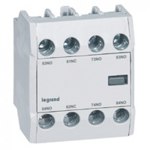 CTX³ add-on aux. contact -for CTX³ 22/40/65/100/150- 3 NO + 1 NC -Front mounting