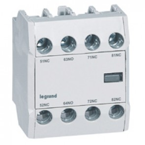 CTX³ add-on aux. contact -for CTX³ 22/40/65/100/150- 1 NO + 3 NC -Front mounting