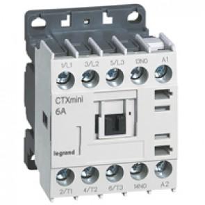 3-pole mini contactors CTX³ - 6 A (AC3) - 24 V~ - 1 NO - screw terminals