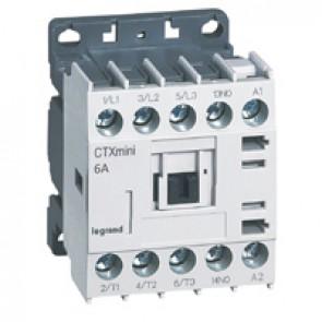 3-pole mini contactors CTX³ - 6 A (AC3) - 415 V~ - 1 NO - screw terminals