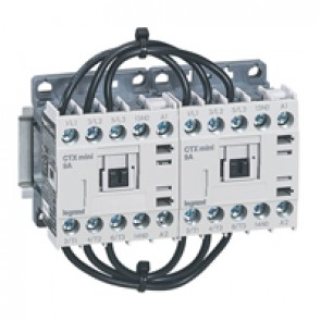 3-pole mini contactors CTX³ - 9 A (AC3) 230 V~ - 1 NO - screw terminals