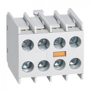 Add on auxiliary block for mini contactors CTX³ - 4 NC - front mounting