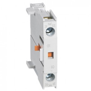 Add on auxiliary block for mini contactors CTX³ - 1 NC - side mounting