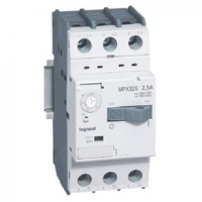 MPCB MPX³ 32S - thermal magnetic - motor protection - 3P - 2.5 A - 100 kA