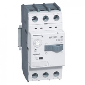 MPCB MPX³ 32S - thermal magnetic - motor protection - 3P - 8 A - 100 kA